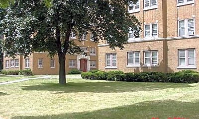 Building, Franklin Arms Apartments, 0