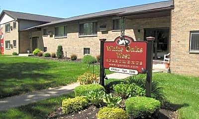Community Signage, White Oaks West Apartments, 1
