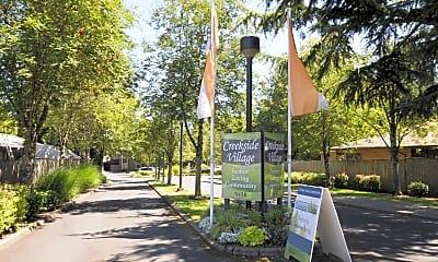 Community Signage, Creekside Village Retirement Community, 2