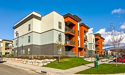 Building, Clearfield Station Apartments, 1