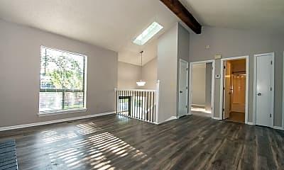 Living Room, 8533 Goddard, 1