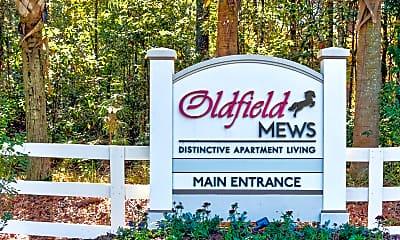 Community Signage, Oldfield Mews, 2
