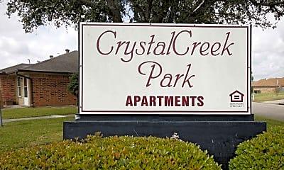 Community Signage, Crystal Creek Park, 1