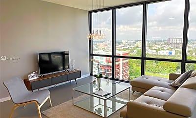 Living Room, 1600 NE 1st Ave 1220, 0