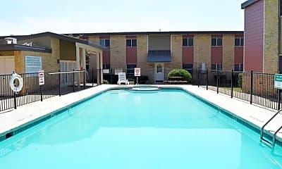 Pool, Gemini Village Apartments, 1