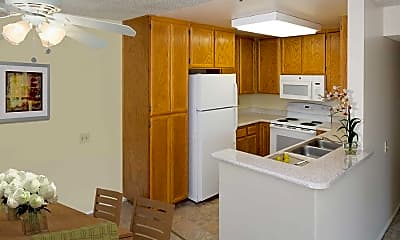 Kitchen, eaves La Mesa, 1