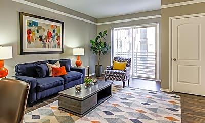 Living Room, Arrive Watertower Apartments, 1
