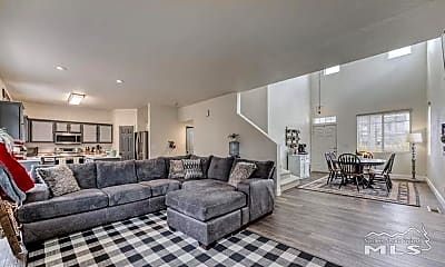 Living Room, 5855 Blue Canyon Dr, 1