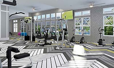 Fitness Weight Room, Capital Crest, 2