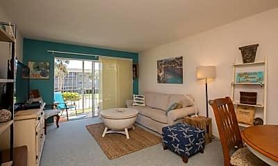 Living Room, 325 N Causeway D-205, 1
