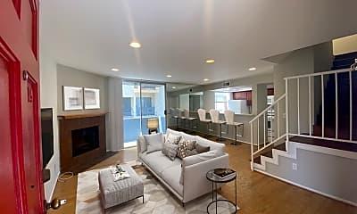 Living Room, 1529 S Bundy Dr 105, 0