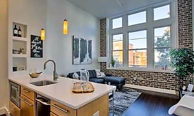 Kitchen, Union Lofts, 0