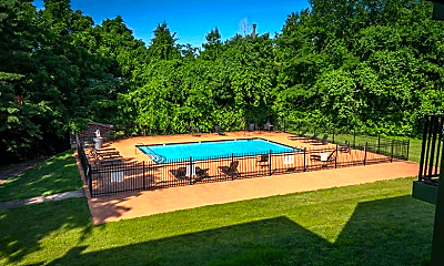 Pool, The Highland on Briley, 2