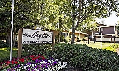 Community Signage, The Bay Club, 2