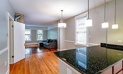 Living Room, 3436 N Hamilton Ave 2, 1