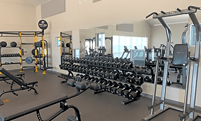 Fitness Weight Room, 700 Lincolnshire Cir, 2