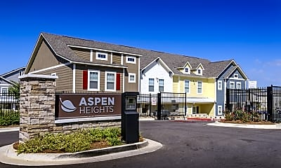 Community Signage, Aspen Heights, 1