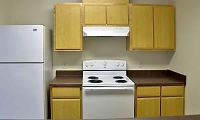 Kitchen, Bentley Apartments, 1
