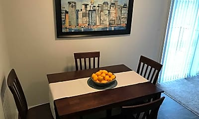 Dining Room, Knoll Ridge Townhomes and Apartments, 1