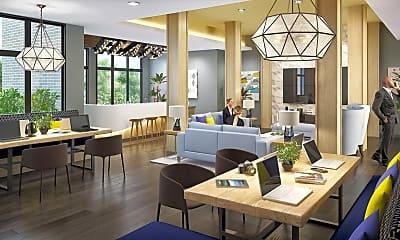 Dining Room, Flats at Springhurst, 1