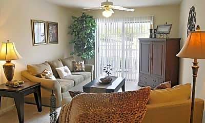 Living Room, Stone Mill Apartments, 1