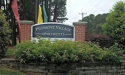 Piedmont Village Apartments, 1