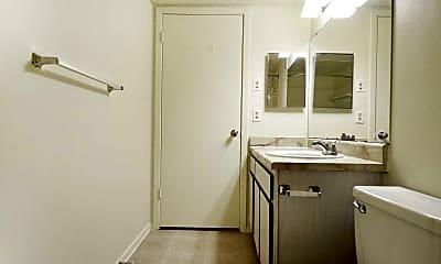 Bathroom, Plaza Square Apartments, 2