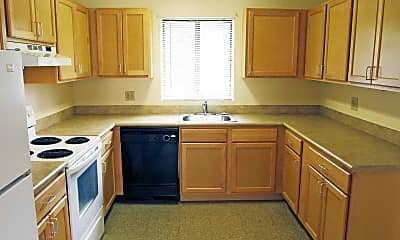 Kitchen, Deer River Estates, 1