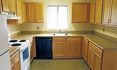Kitchen, Deer River Estates, 1