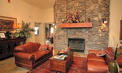 Living Room, Tanemara Apartments, 1