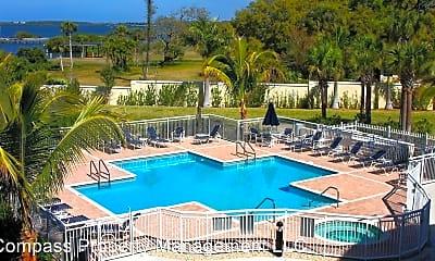 Pool, 14021 Bellagio Way, 2