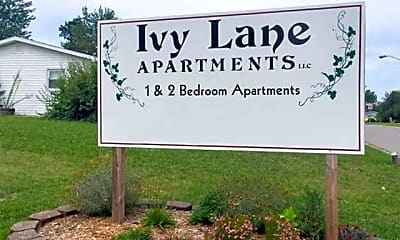 Community Signage, The Ivy Lane Apartments, 1