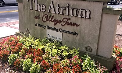 Atrium at College Town, 1
