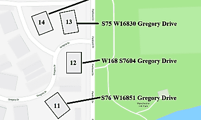 Community Signage, S75W16830 Gregory Dr, 2