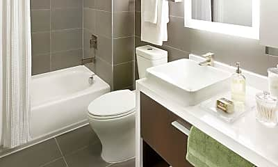 Bathroom, The Yards: Main Office, 2