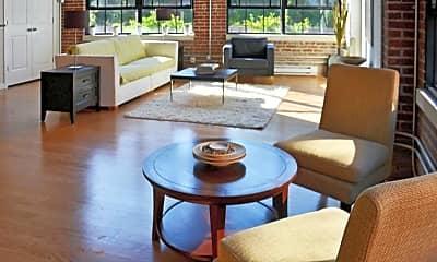 Living Room, Hatboro Lofts, 0
