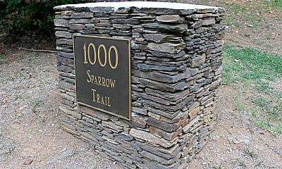 Community Signage, 1000 Sparrow Trail B, 2