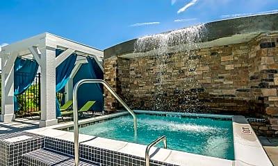 Pool, Metro 59 Apartments, 0