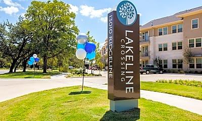 Community Signage, Lakeline Crossing, 2