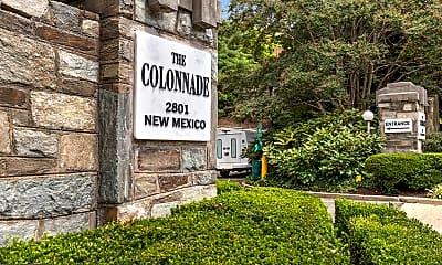 Community Signage, 2801 New Mexico Ave NW 902, 2