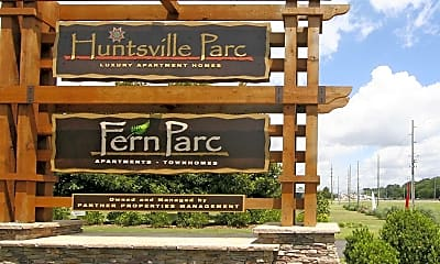 Community Signage, Fern Parc, 2