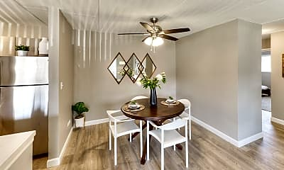Dining Room, Axis at Westmont, 1