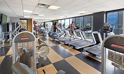 Fitness Weight Room, Columbus Plaza, 2