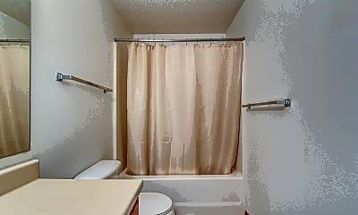 Bathroom, Brick View Apartments, 2