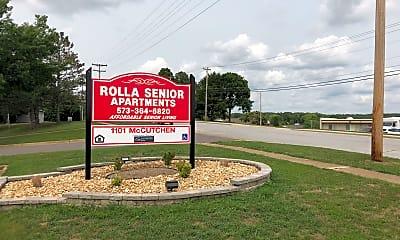 Rolla Senior Apartments, 1