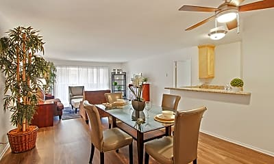 Dining Room, The Amalfi Apartments, 2