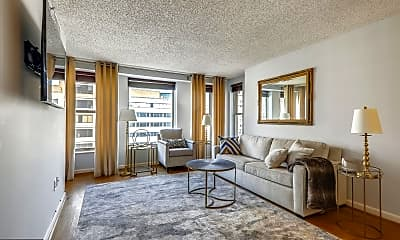 Living Room, 601 Pennsylvania Avenue NW 1004N, 1