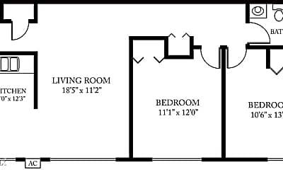 Bedroom, 1111 Kimberly Dr, 2