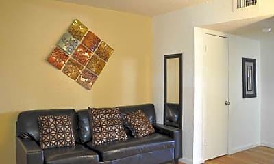 Living Room, Garden Oaks, 1