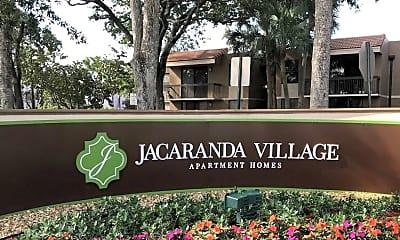 Community Signage, Jacaranda Village, 1